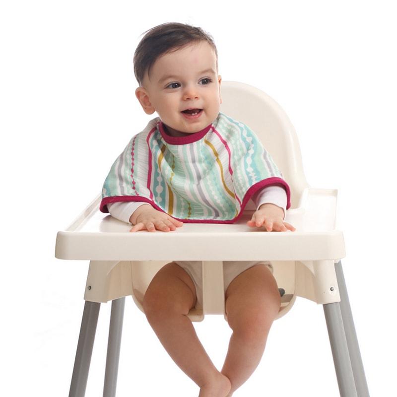 סינר טטרה לתינוק - דגם 'פסים שיק'