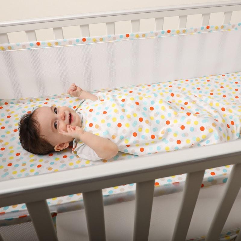 ملاءة سرير للأطفال - موديل كونفيتي