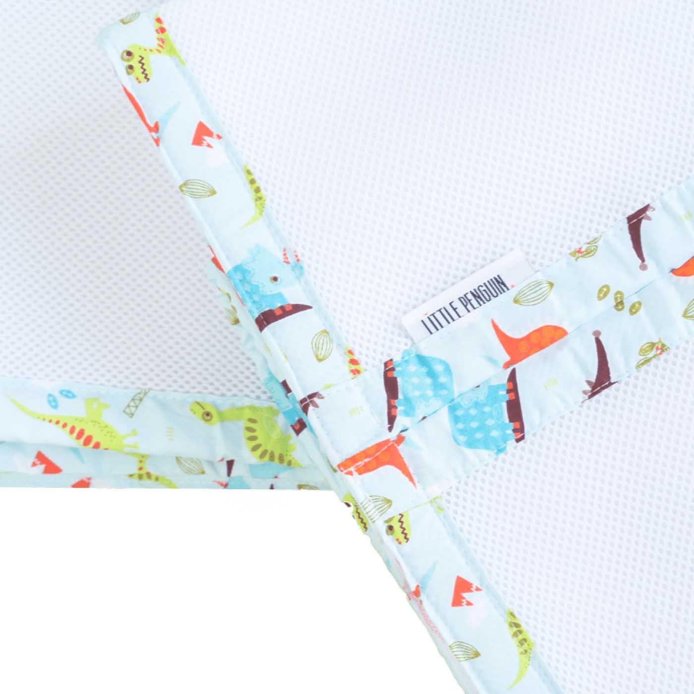 Бампер для детской кроватки - Динозавр