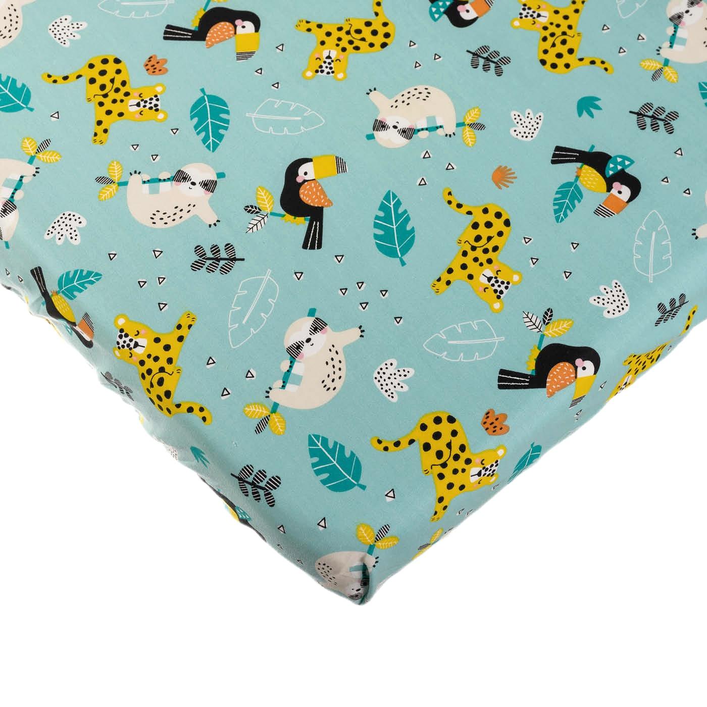 ملاءة سرير للأطفال - موديل الغابة