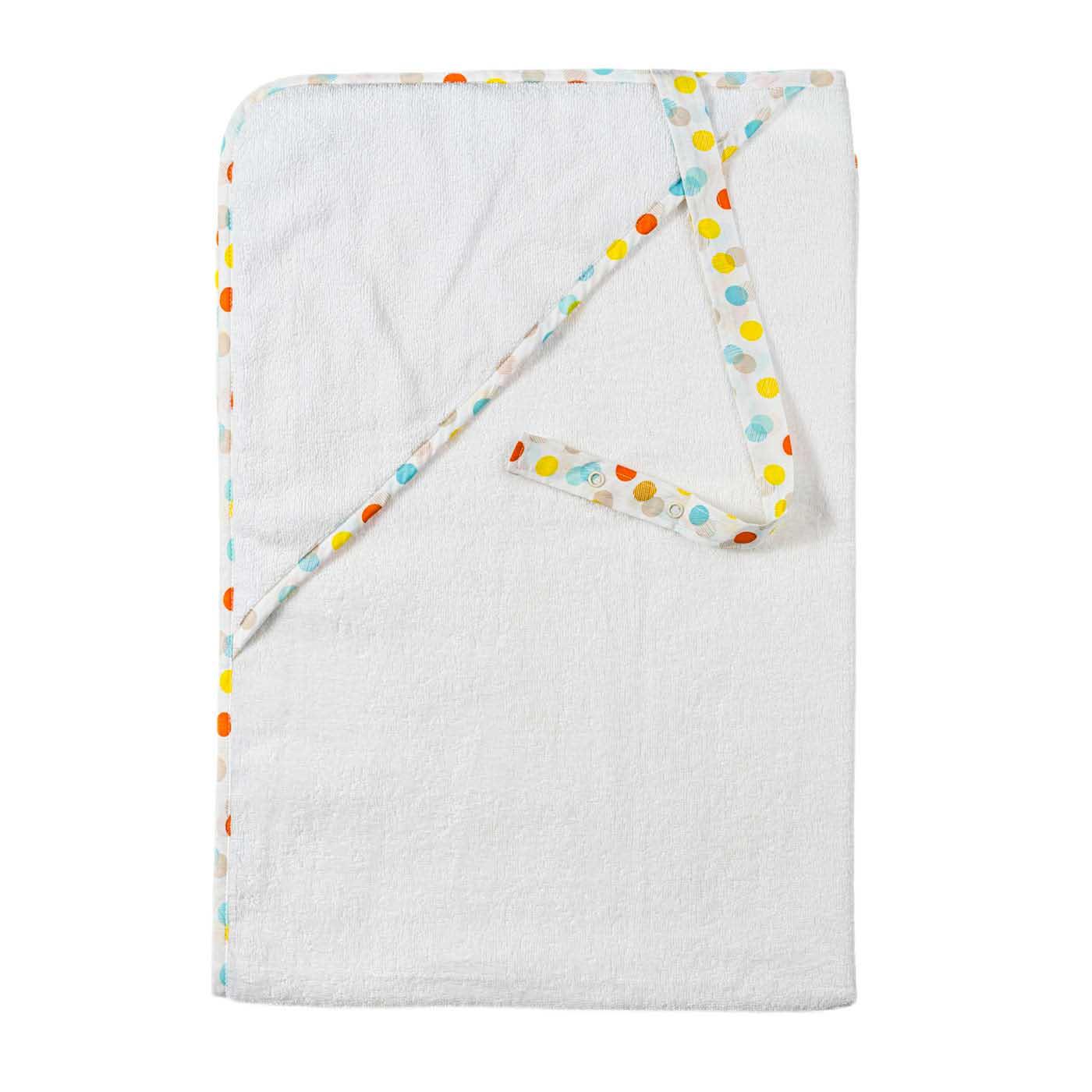 Детское полотенце с завязкой - Конфетти