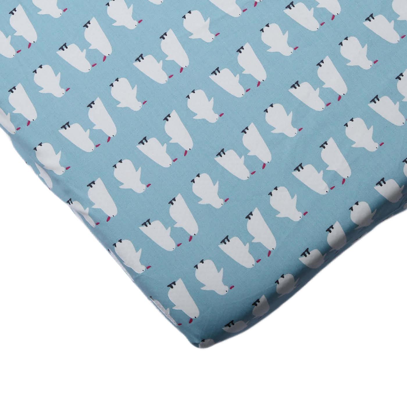 סדין למיטת תינוק - דגם פינגווין פרימיום