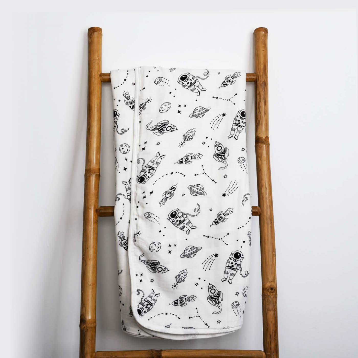 بطانية بامبو تترا - موديل فضاء