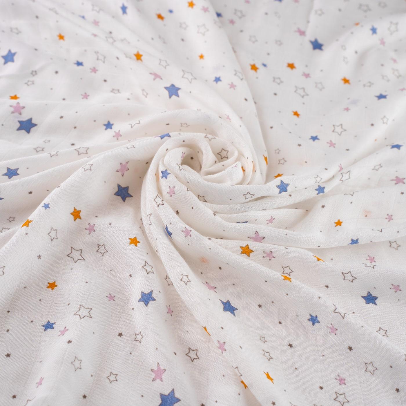 Салфетки из муслина отрыжки - Звезды