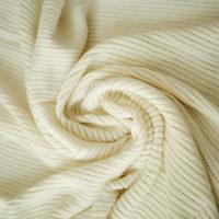 بطانية اطفال محيّكة - كريمي