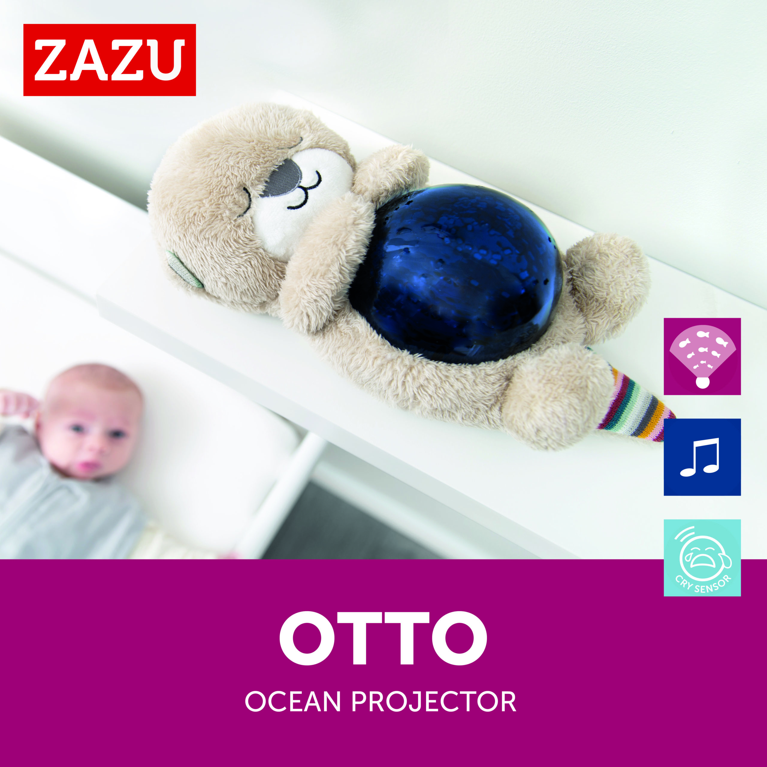 OTTO - Moving ocean projector