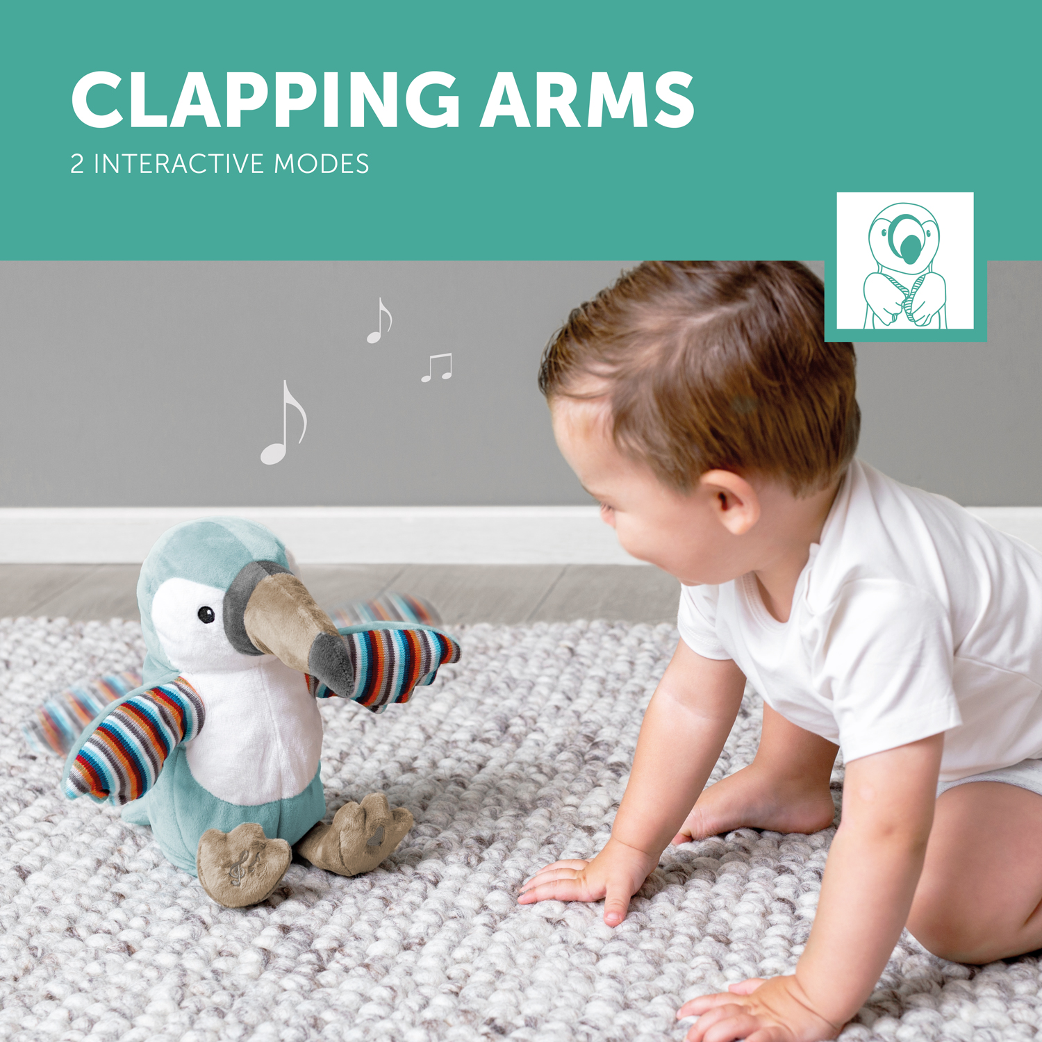 TIMO - Clapping soft toy