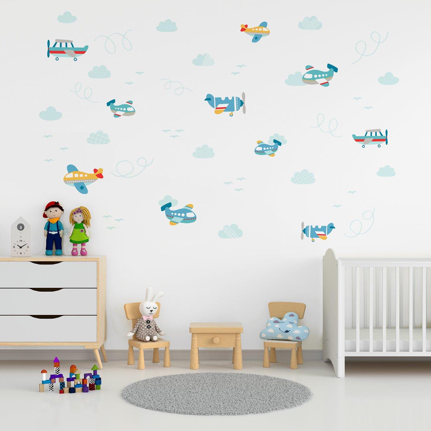 Wall stickers - Aeroplanes