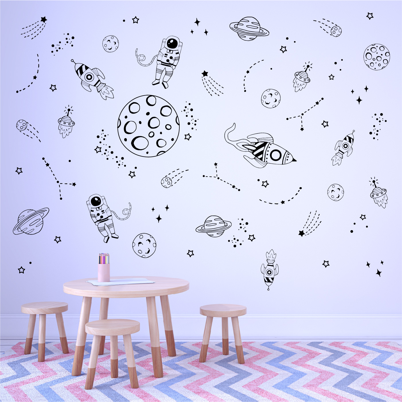 Wall stickers - Space